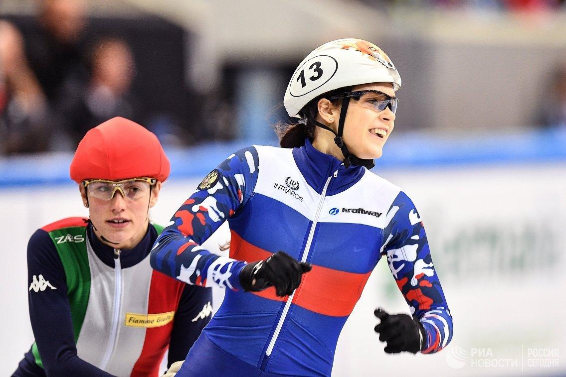 Шорт-трекистка Софья Просвирнова: к Олимпийским играм готова