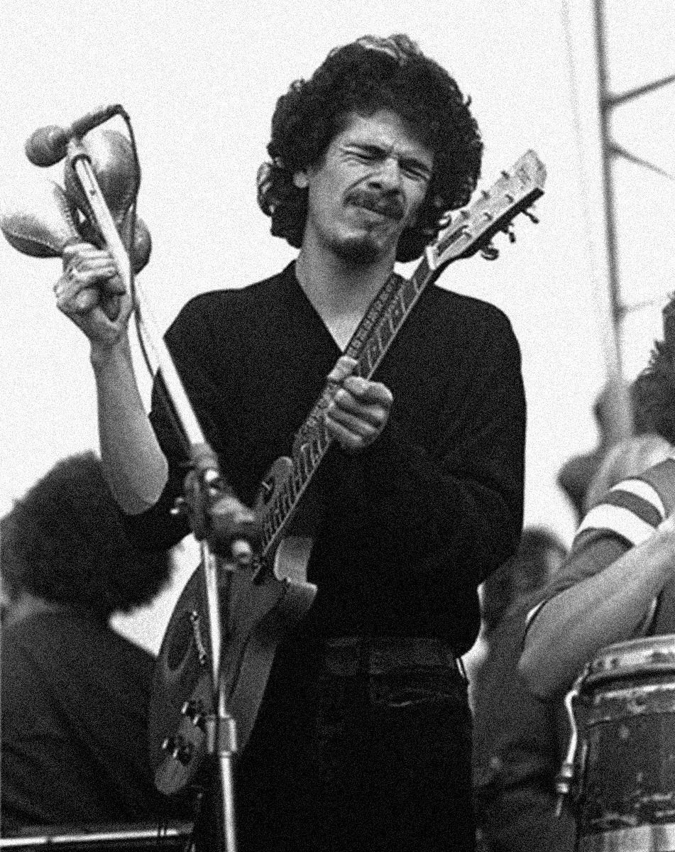 1969. Сантана на фестивале в  Альтамонте