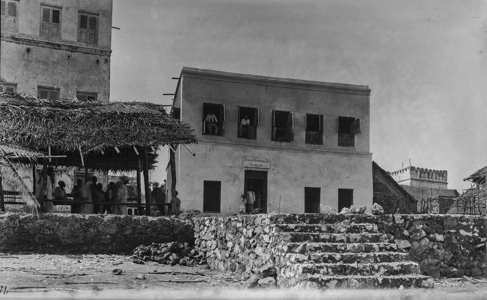 346. Здание таможни в Пангани