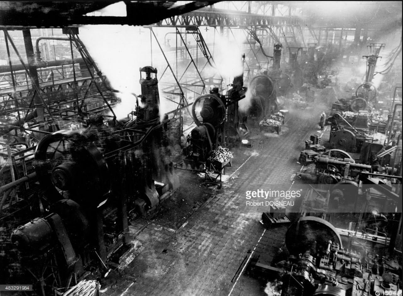 1936. Завод Рено