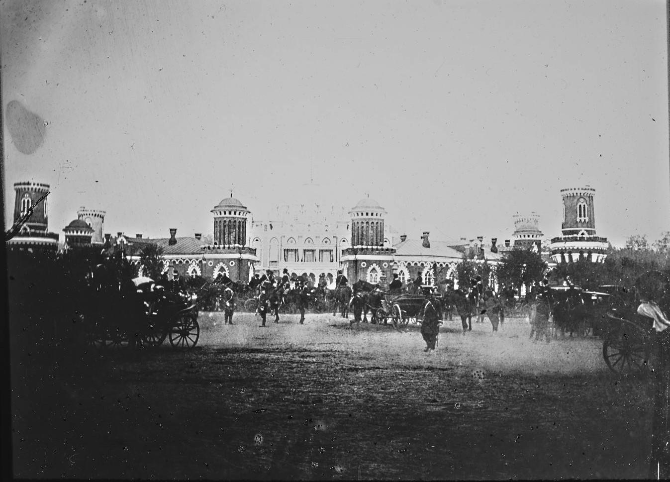 Петровский дворец. В ожидании прибытия императора