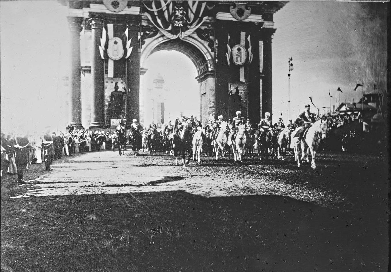 Въезд Императора в Москву