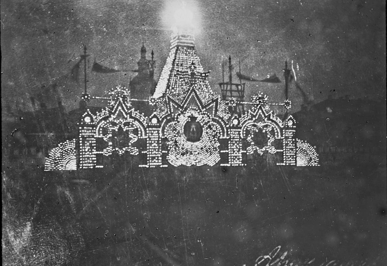 Ночная иллюминация на Большом театре