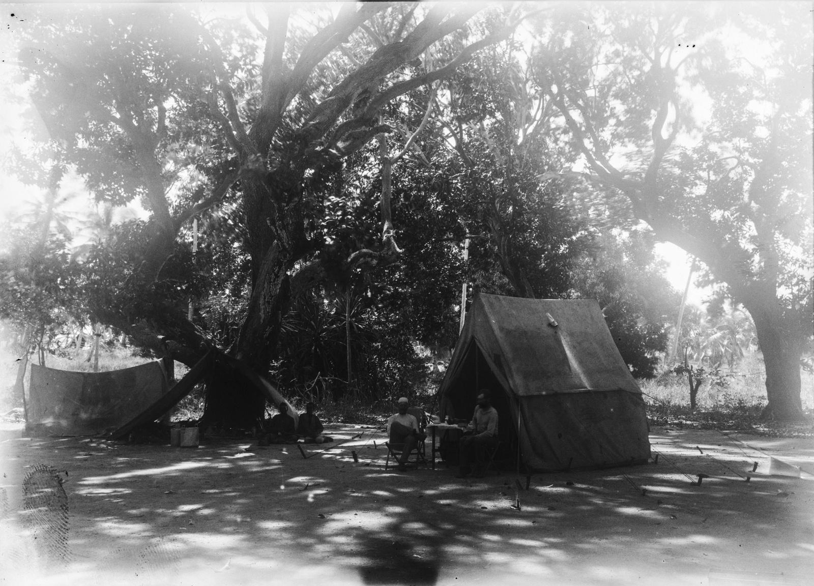 388. Палаточный лагерь экспедиции в деревне Фреретаун