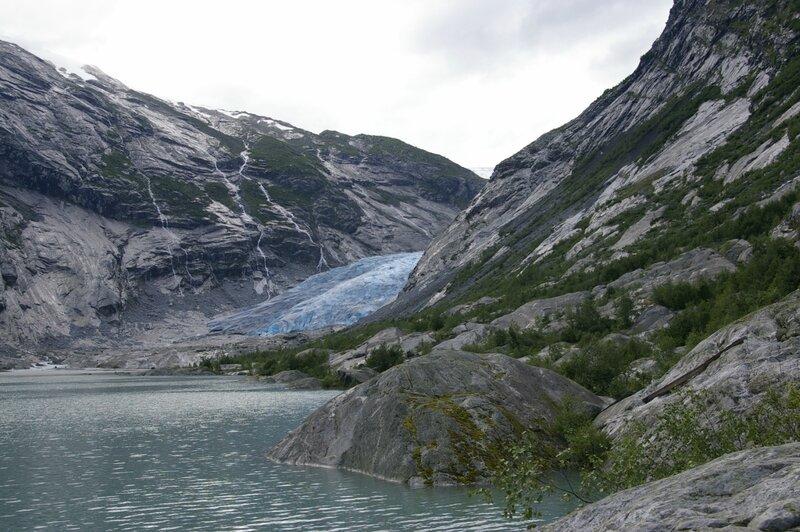 Тарасова Ольга, Норвегия, ледник