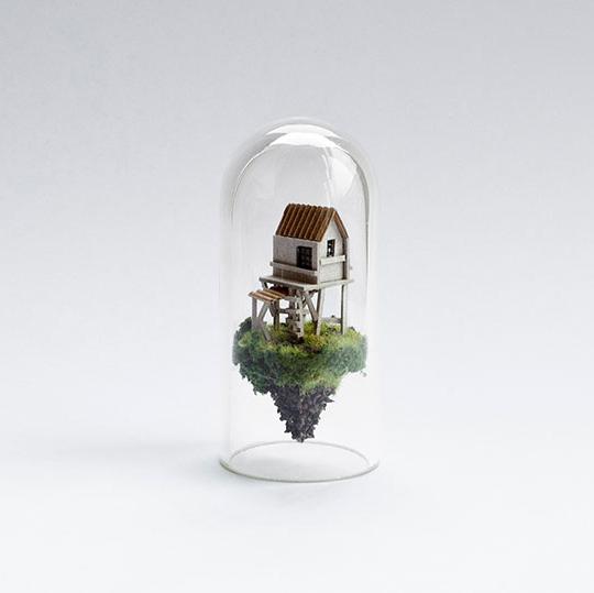 Test tube dioramas, Rosa de Jong.jpg
