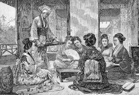 Five O'Clock Tea, 1874 Louise Jopling (1843-1933)_United Kingdom