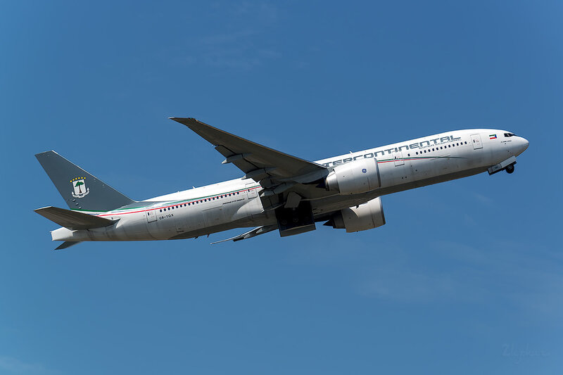 Boeing 777-2FB/LR (CS-TQX) Ceiba Intercontinental D801589