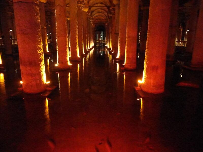 Подземная цистерна Базилика