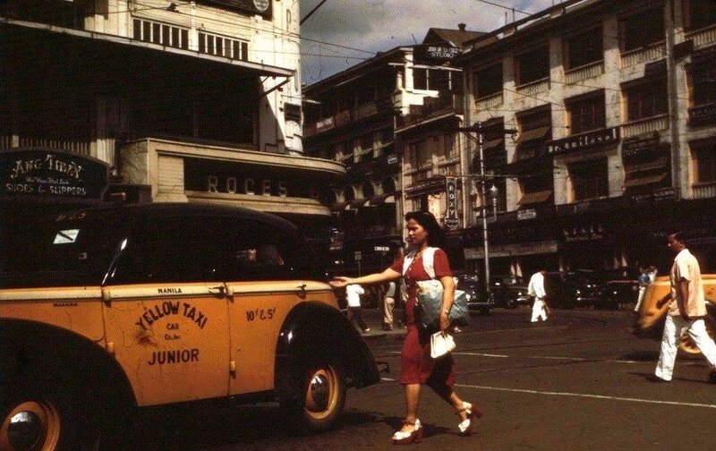 Манила Yellow-Taxi-Junior-Plaza-Goiti-1940.jpg
