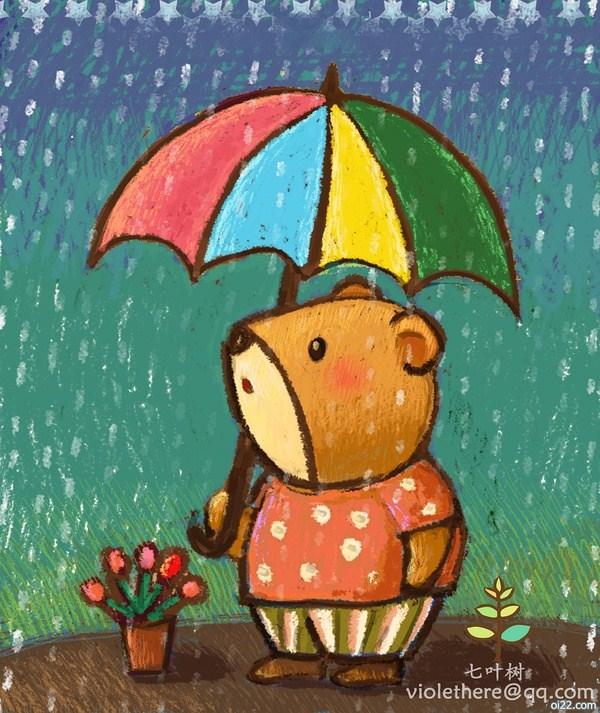 图片-来自七叶树的《温暖纯净的世界》插画欣赏(oi22.com)
