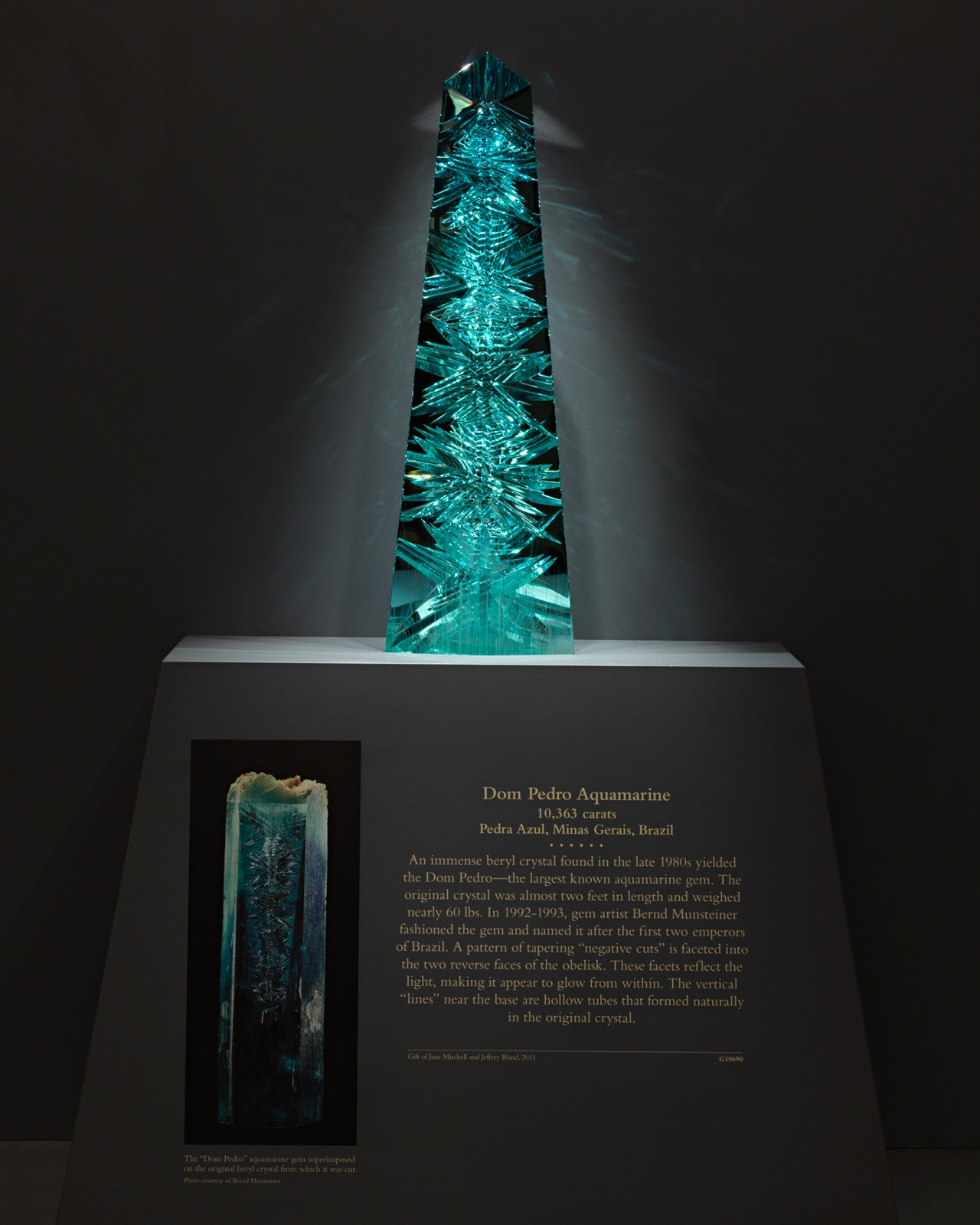 The Dom Pedro aquamarine