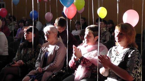 Концерт к Международному дню инвалида в детском доме ДОС. Виктория Лёгкая, Светлана Пискун,Татьяна Чоботарь,Виктория Бабанская