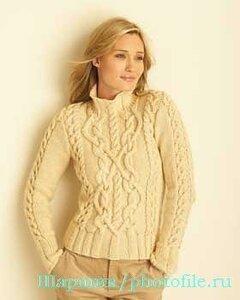 Дуэль Ferragamo-Bernat - аранами свитер богат!
