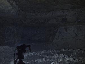 Фонарь Fenix HP25, в режиме рассееного света, в максимальном режиме светит так