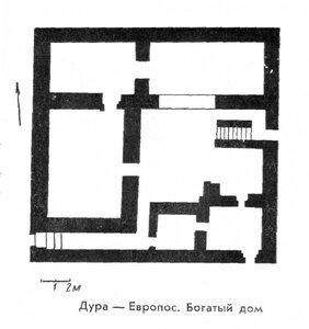 Богатый дом Дура-Европоса, планы