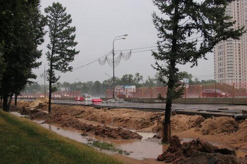 Реконструкция Кутузовского проспекта