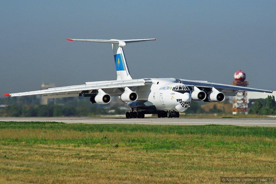 Ил-76 в Алматы