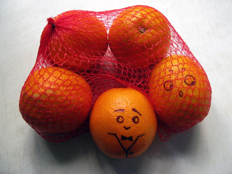 Прикольные картинки апельсинов, днем
