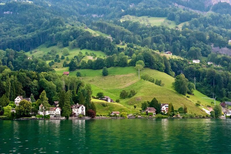 Швейцария! Люцернское озеро. Пилатус