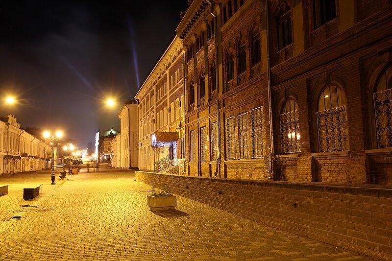 Ночная улица Спасская в Кирове Img_7732