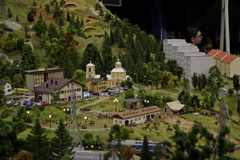 Гранд макет: отель и конный клуб в предгорьях