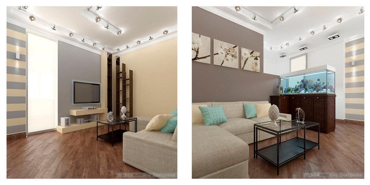 Варианты дизайна гостиной в доме