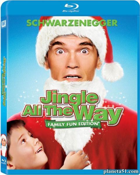 Подарок на Рождество / Jingle All the Way (1996/BDRip/HDRip)