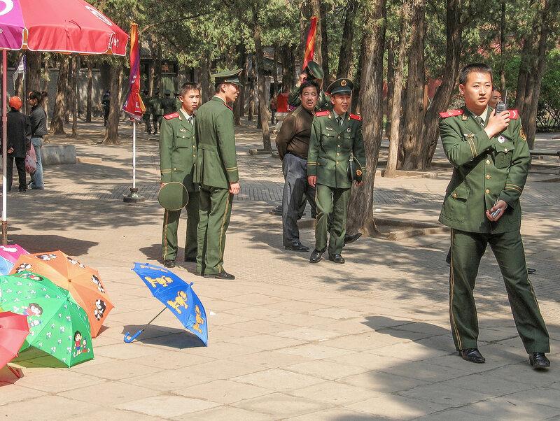Солдаты НОАК