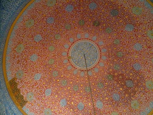 Стамбул. Мозаика во дворце Топкапы (Istanbul. Mosaic in the Topkapi Palace).