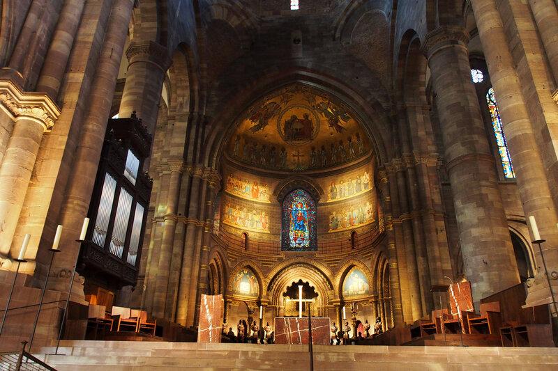 Страсбургский собор. Алтарь