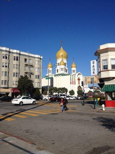 Eastern Orthodox Church in San Francisco, Little Russia