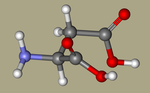Aspartic Acid - DL-ASPARTIC ACID, DL-Aminosuccinic acid, 617-45-8, DL-Asparagic acid, Aspartic acid, DL-, (+-)-Aspartic acid, (R,S)-Aspartic acid-CID_424.png