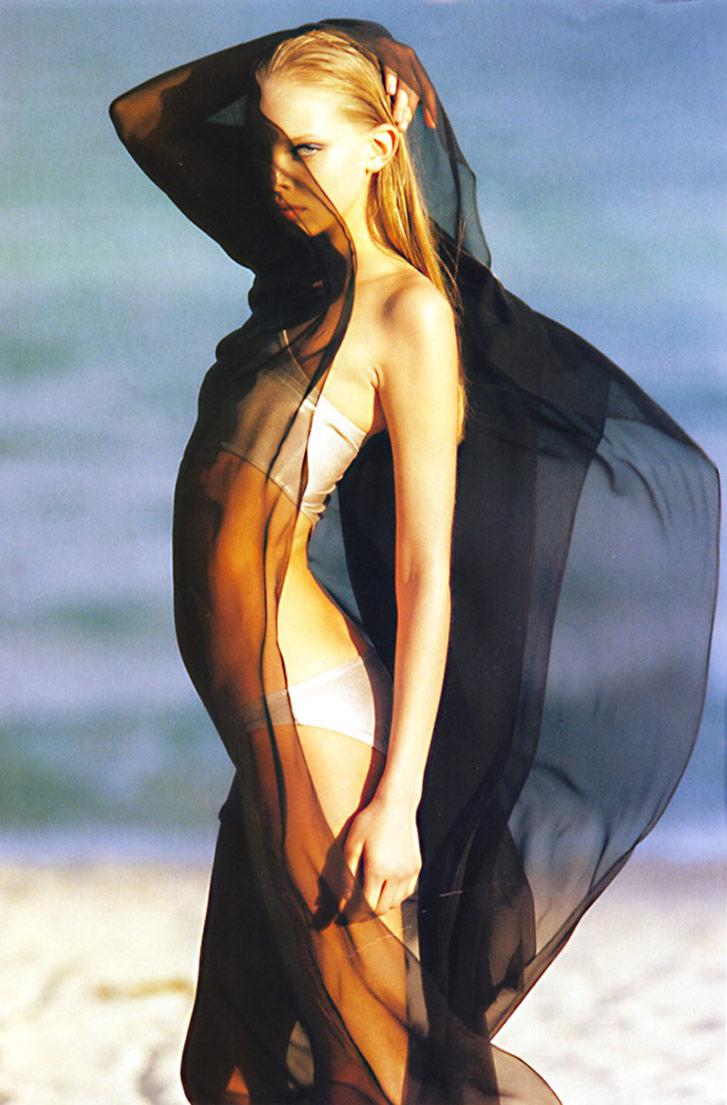 модель Таня Дзягилева / Tanya Dziahileva, фотограф Hans Feurer