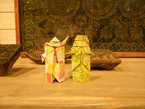 Текстурная бумага для оригами