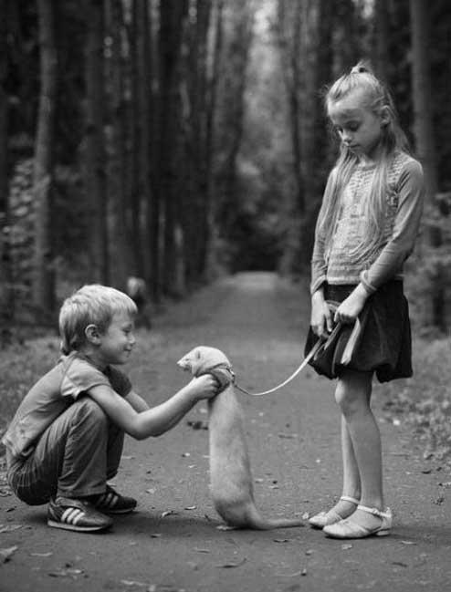 Девушки и настоящие животные 3