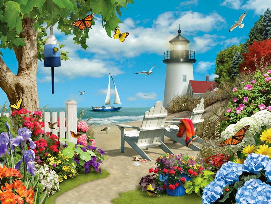 Полюбуйтесь какая прелесть!!! Прекрасный сказочный мир!!!