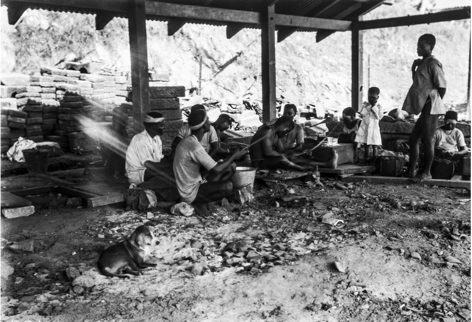 1140. Северные андаманцы в Порт-Блэр