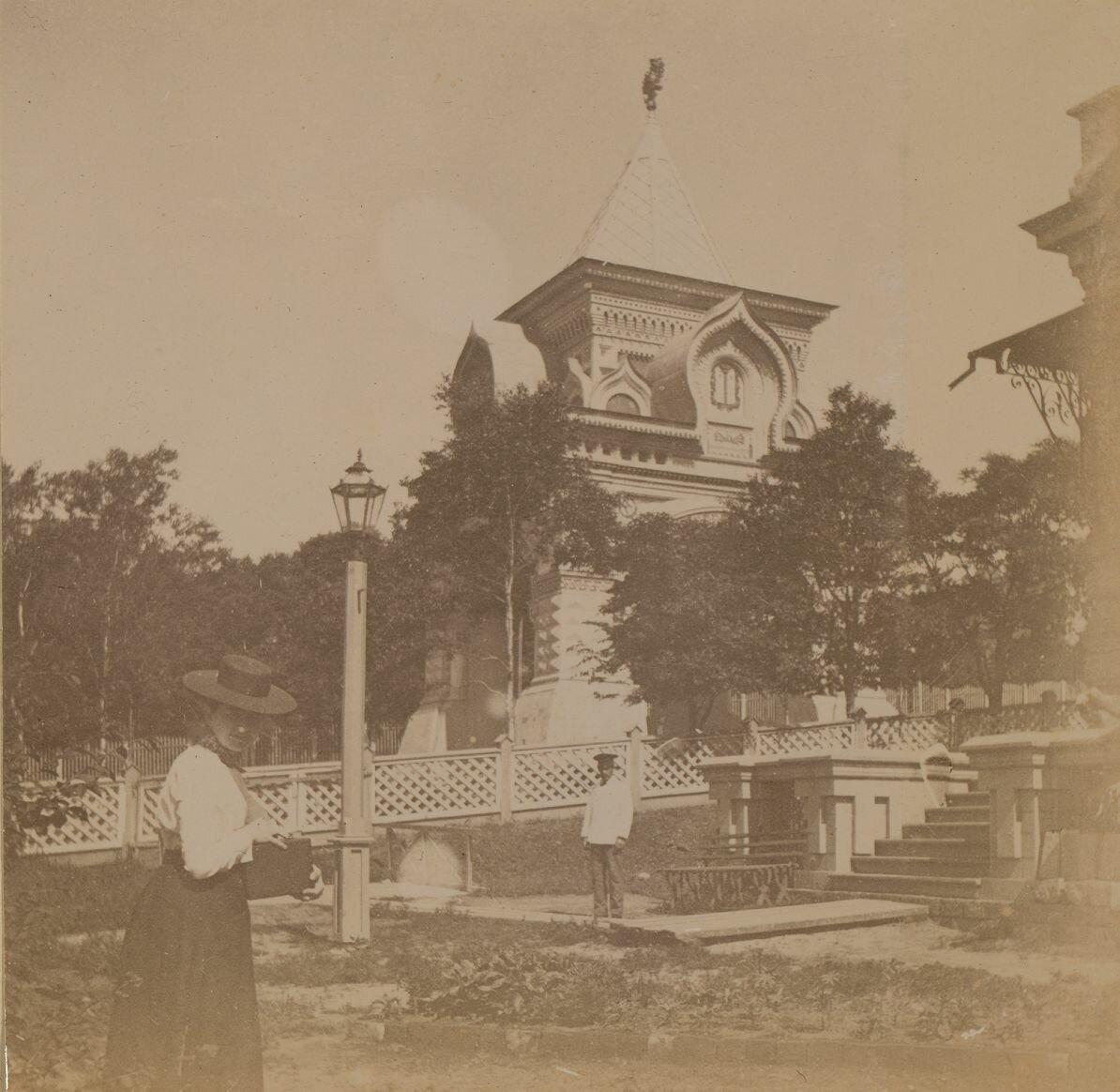 На пикнике в Адмиратейском саду в июле 1899 года