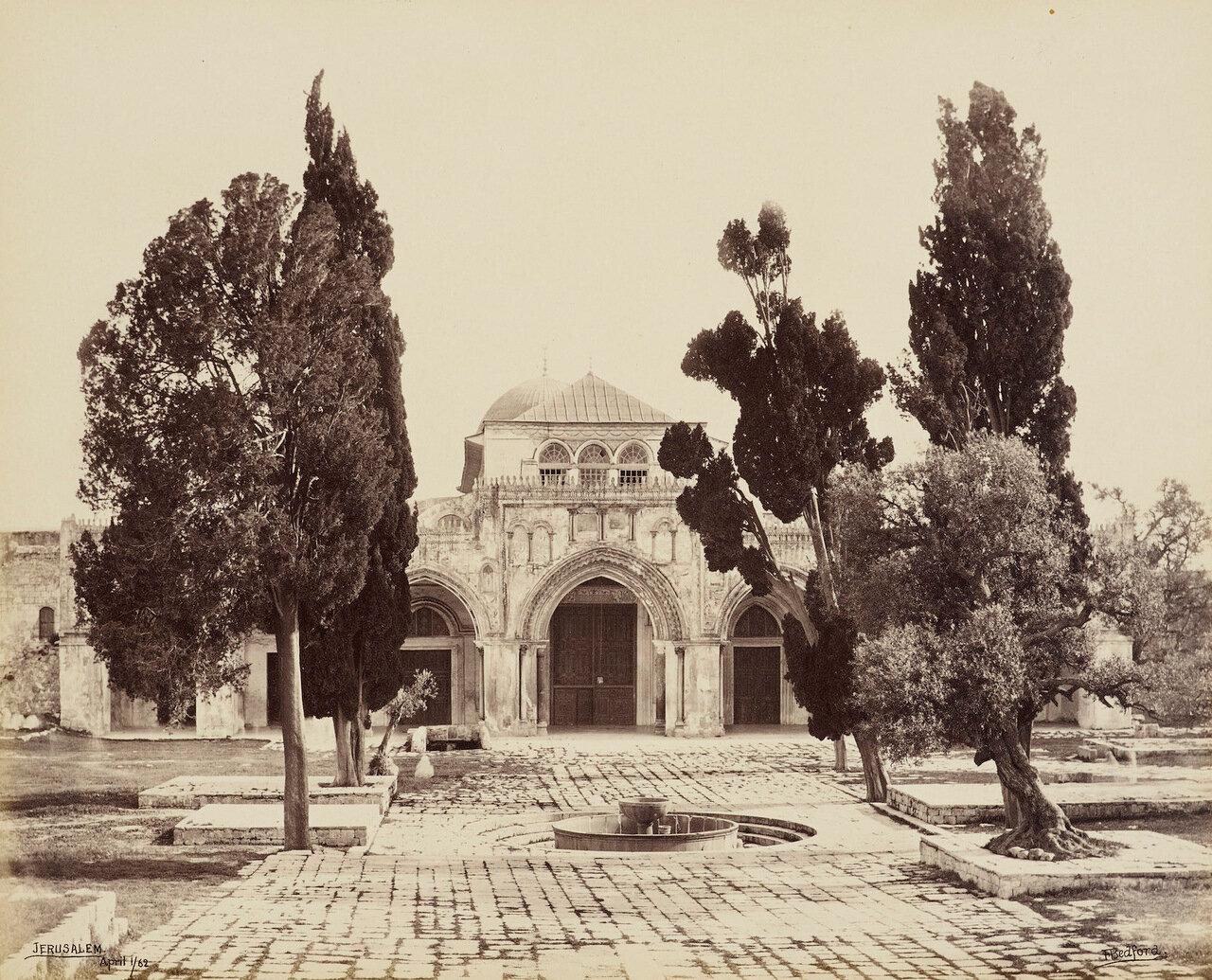 1 апреля 1862. мечеть Аль-Акса, Иерусалим
