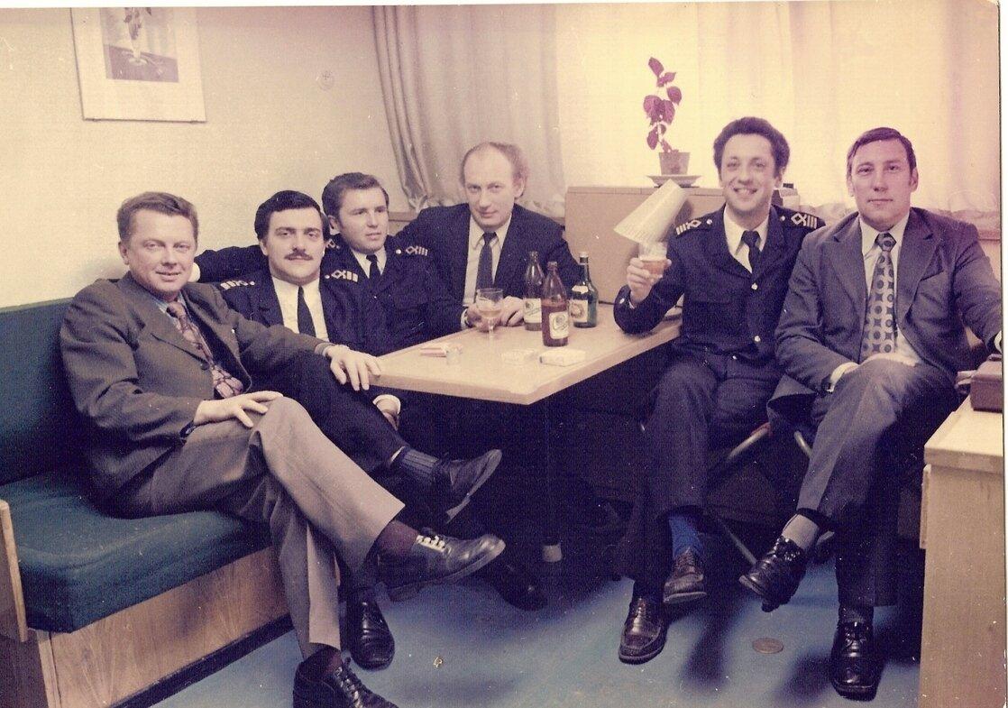 Сибирь каюта Мантулы 1978