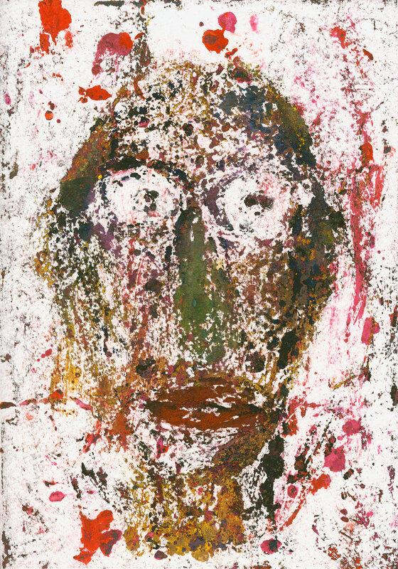Разрушенный портрет, не поддающийся восстановлению. Версия №2