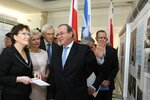 Marsza?ek Sejmu otworzy?a wystaw? «Nasi Izraelczycy...»