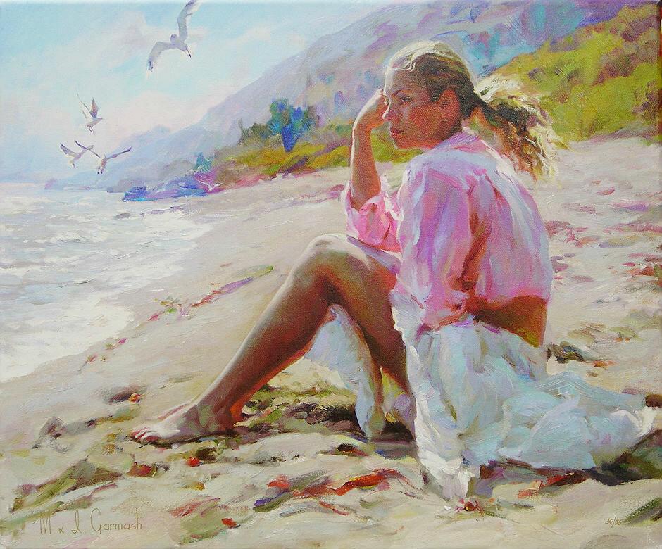художник и море картинки это нейтральный цвет