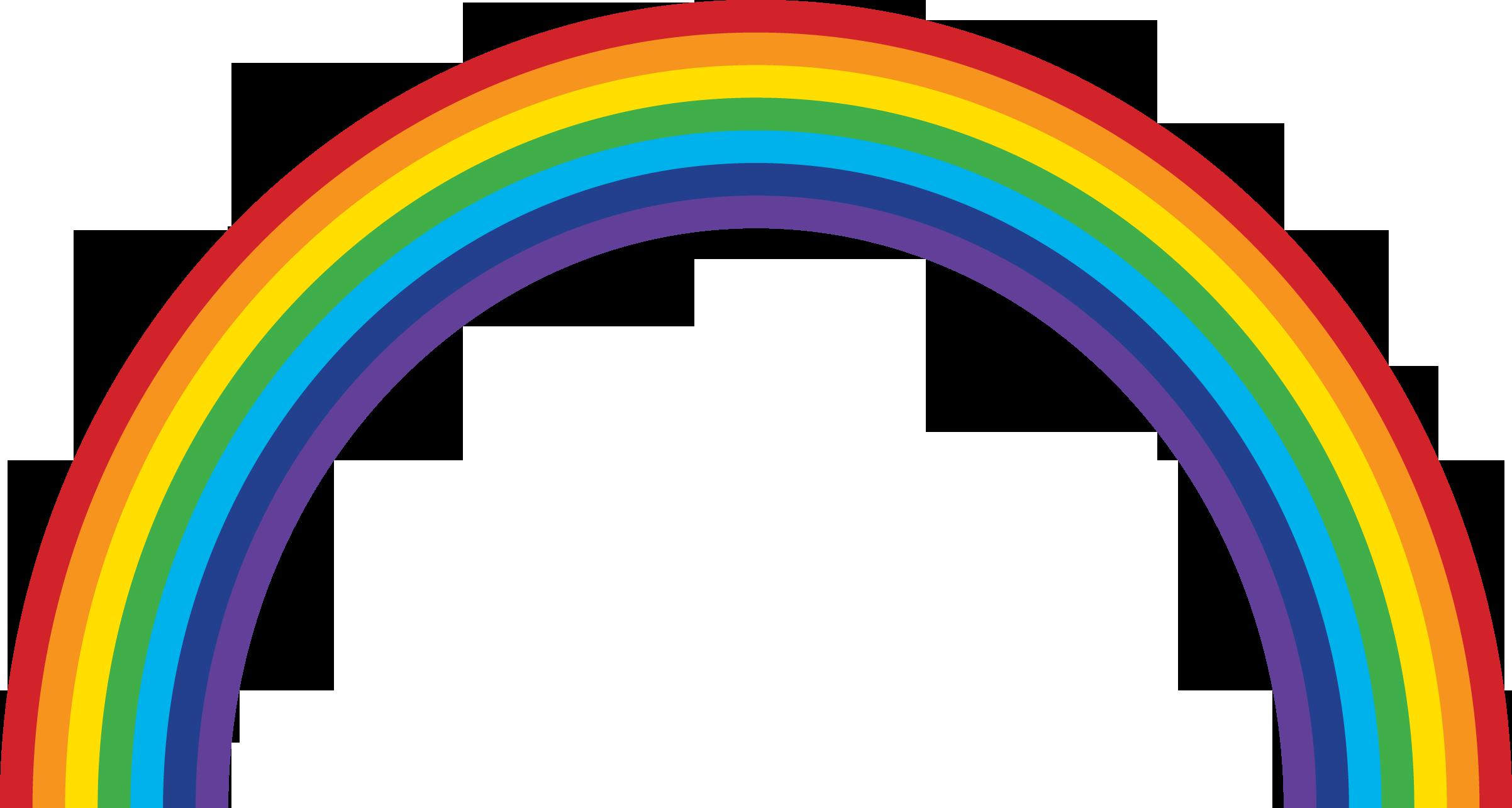 Рисунки для детей радуга