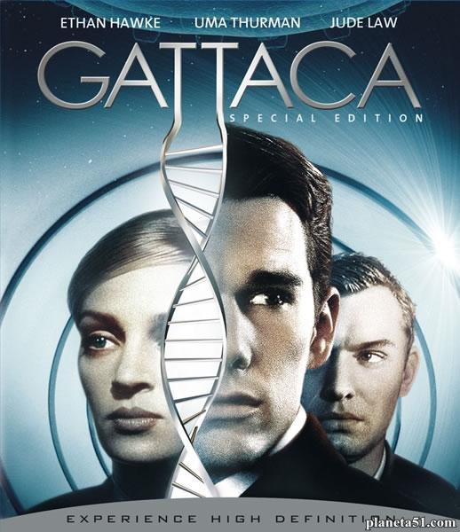 Гаттака / Gattaca (1997/BDRip/HDRip)