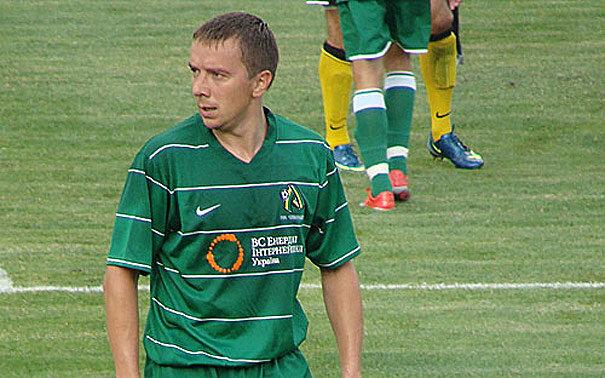 Футболист Александр Казанюк