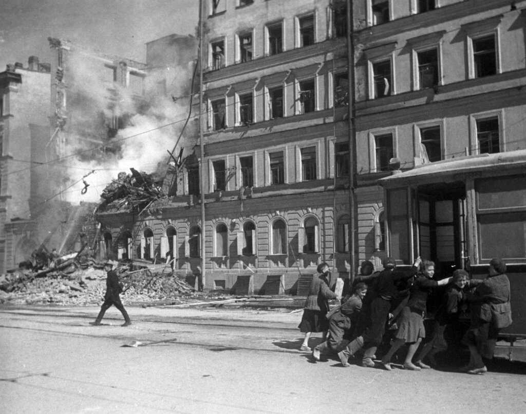 Начало блокады ленинграда фото