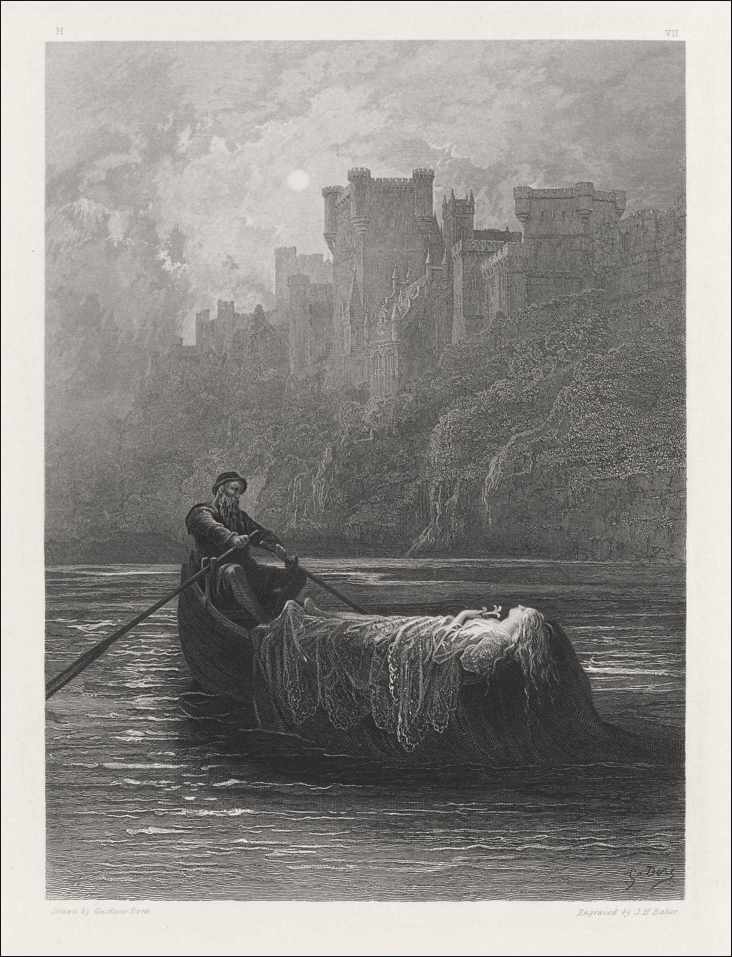 Gustave Doré, Elaine