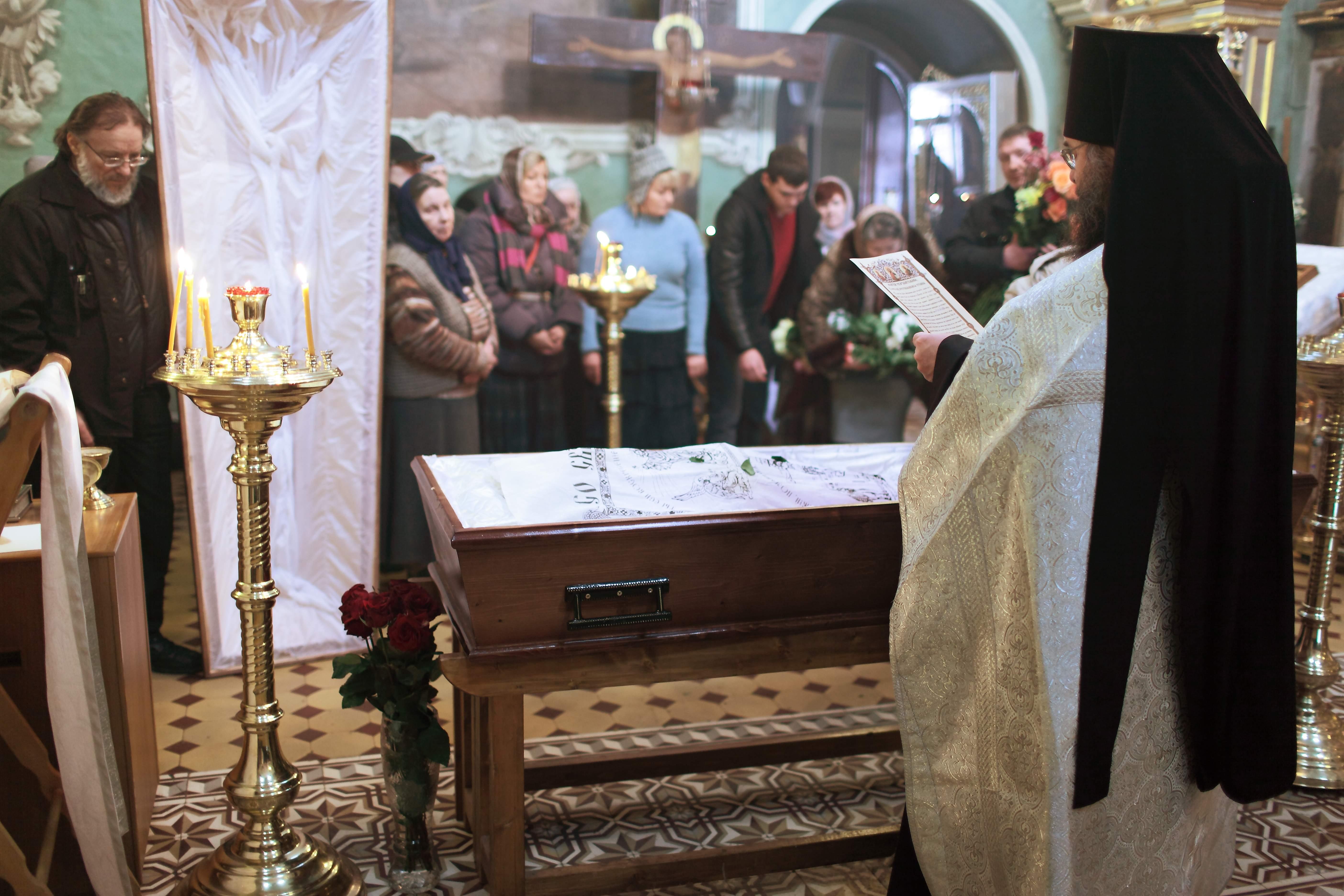 попрощание с Александрой Александровной Трусиковой. 2014